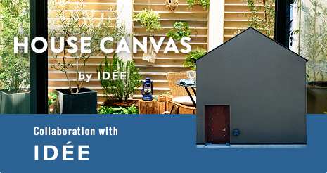 HOUSE CANVAS by IDEE - Collaboration with IDEE